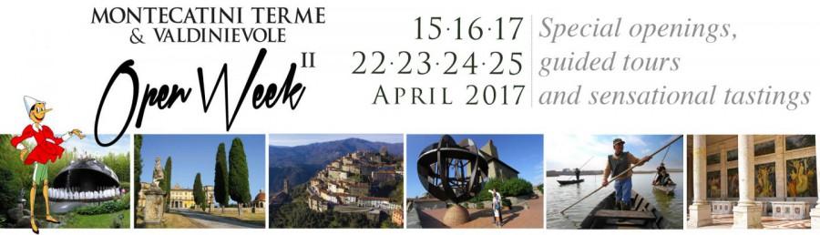 Open Week 2017 Scoprire la Valdinievole
